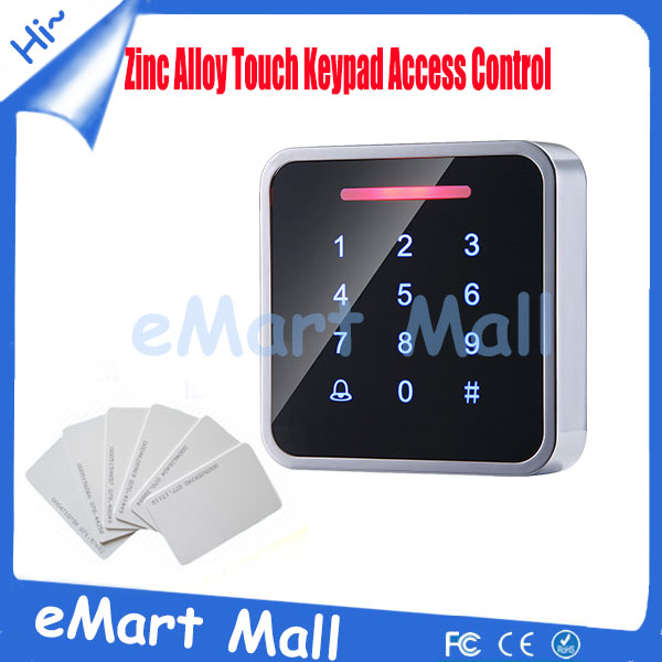 ФОТО touch Keyapd waterproof rfid door access control system 3000 USER CAPACITY outdoor access controller