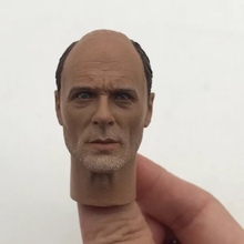 Custom 1:6 Male Head Sculpt World War II German Colonel Corning For 12 Action Figure