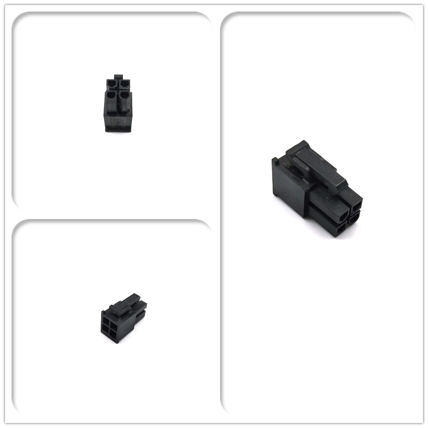 WinKool EPS CPU ATX 4Pin Male Connector Housing Included Terminals / Pins 4.2mm Pitch Spacing 5557 Type