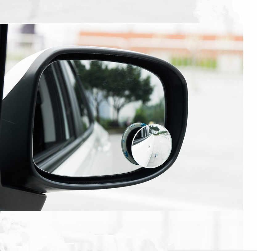 2pcs רכב Rearview מראה קטן עגול מראה עבור סובארו Legacy אימפרזה פורסטר xv trezia BRZ wrx levorg אאוטבק 2008 2009 2010