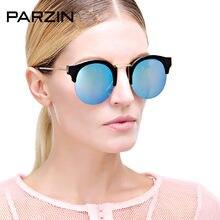 Parzin gafas de sol mujeres TR 90 amante vendimia gafas de sol semi rimless  Shades mujer vidrios del conductor con el caso negro. 24df8c90bfd9