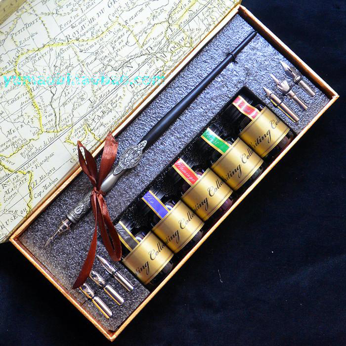 Hot Sale English Calligraphy Fountain Vintage Pen hot sale cayler