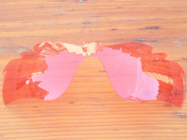 Crystal Pink Replacement Lenses For RadarLock Path Vented Sunglasses Frame 100% UVA & UVB Protection