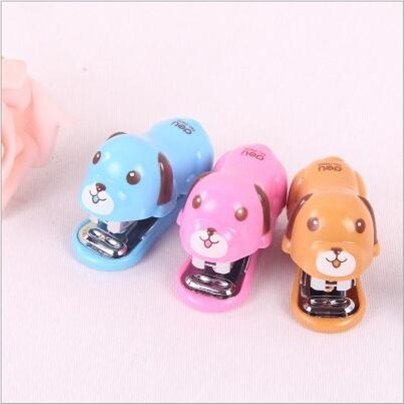 New Mini Cartoon Stapler Office Set Stapler School Student Supplies Office And School Supplies
