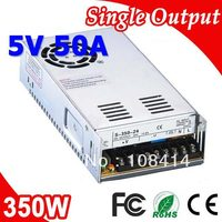 S 350 5 Meanwell Single Output 350W Power Supply 5V Adapter AC to DC