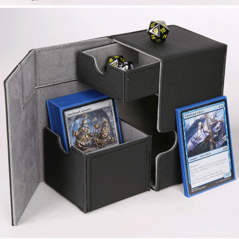 Board Game Cards Box Crazy Kids Board Game Cards Case Cards Container Collection For Magic Trading Board Game Cards