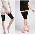 Calorias Off Massager Slimming Coxa Perna Shaper Cinto Elástico Esticar Meias Perna Preto Nylon Spandex Shapewear
