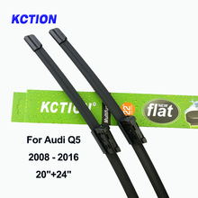 Windshield front wiper blade for Audi Q5 Fit Push Button Arms  windscreen rear wiper car accessories 2008 2009 2010 2011 2012 цена