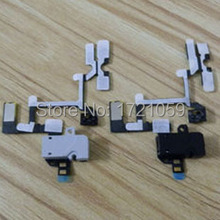 Volume Button Flex Cable For iPhone 4 4G Audio Jack headphone Earphone Mute Silent Switch free