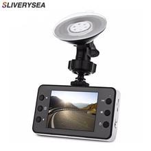 SLIVERYSEA 2.7 Inch K6000 Car DVR Camera Video Dash Cam Recorder Full HD 720P Dual LED Night Vision Video Registrator Car Camera