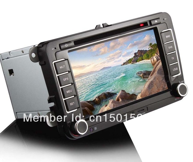 Volkswagen PASSAT Golf Android 4.0.4 Car PC DVD Player With GPS Radio Wifi 3G IPOD TV Free 4GB SD Card+Wifi Dongle 7000A