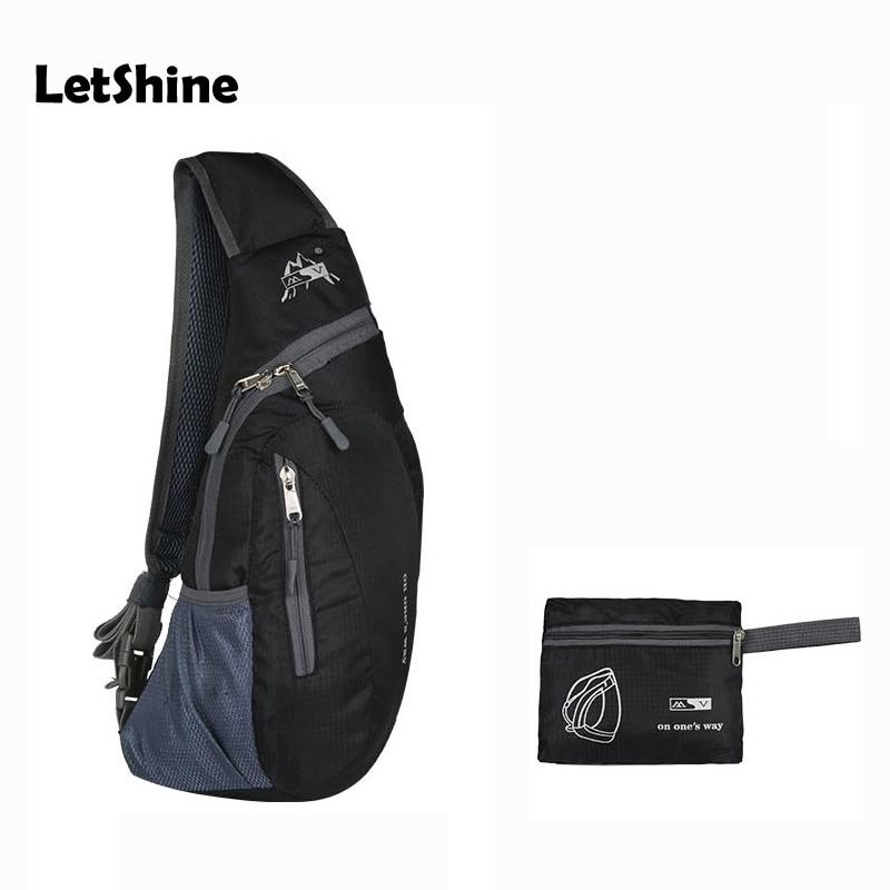 6colors Body Cross Handbags Men Women Waterproof Chest Pouch Bag Shoulder Sling Foldable Bag Nylon Cross Body Bags XB