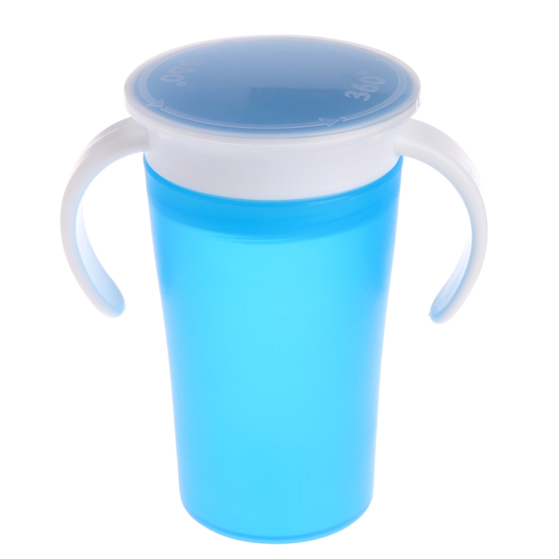 360 Degree Magic Drinking Prevent Leaking Cup Toddler Training Cups For Kids New