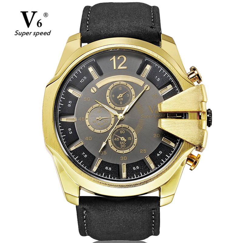 Mens Watches Top Luxury Brand Quartz Watch Casual Leather Sports Wristwatch Montre Homme Male Clock Relogio Masculino montre homme guanqin watches men sport casual leather quartz watch mens luxury top brand waterproof wristwatch relogio masculino