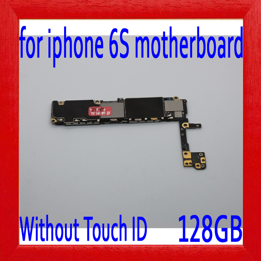 Complete Logic boards,for iphone 6S 4.7 inch Motherboard,128gb for iphone 6S Mainboard without Touch ID,100% Original unlocked