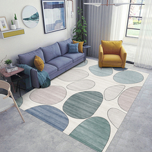 Modern Fashion Nordic Living Room Carpet Bedroom Machine Washable Rectangular Sofa Coffee Table Mat nordic style large carpet living room sofa coffee table blanket simple modern bedroom room household machine washable