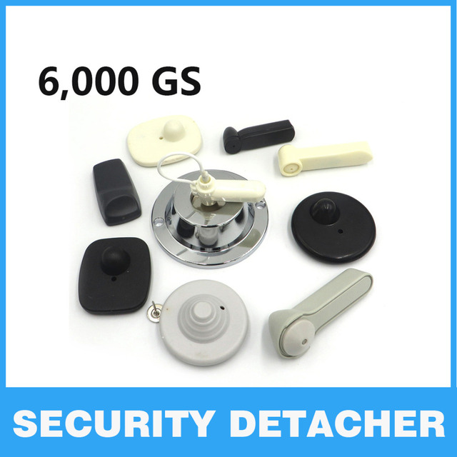 Magnet Detacher 2015 New And Hot 5000 Gauss Magnetic Security Clothing Tag Detacher Anti-theft Remover Free Shipping