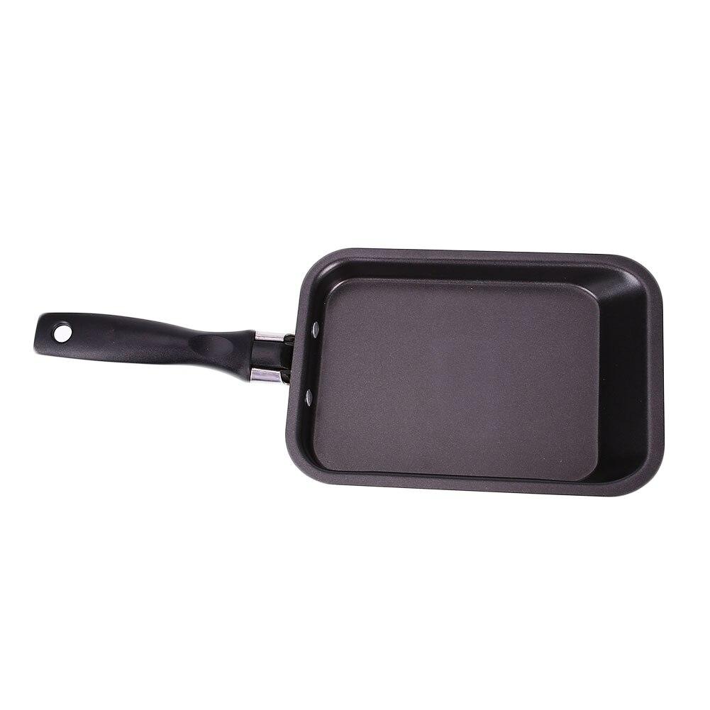 1 Set <font><b>Frying</b></font> Rectangle Steel <font><b>Pans</b></font> Kitchen Tool Cookware Accessories