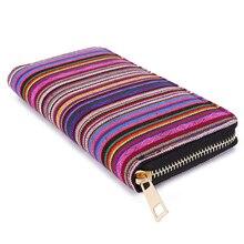 Boho Jacquard Long Wallet