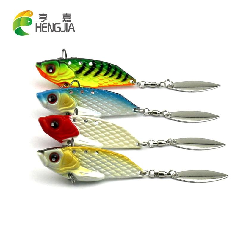 HENGJIA 4 τεμάχια 6 εκατοστών 20 γραμμάρια - Αλιεία
