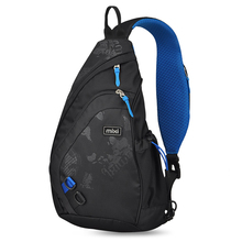 Mixi 2019 Fashion Backpack for Men One Shoulder Chest Bag Male Messenger Boys