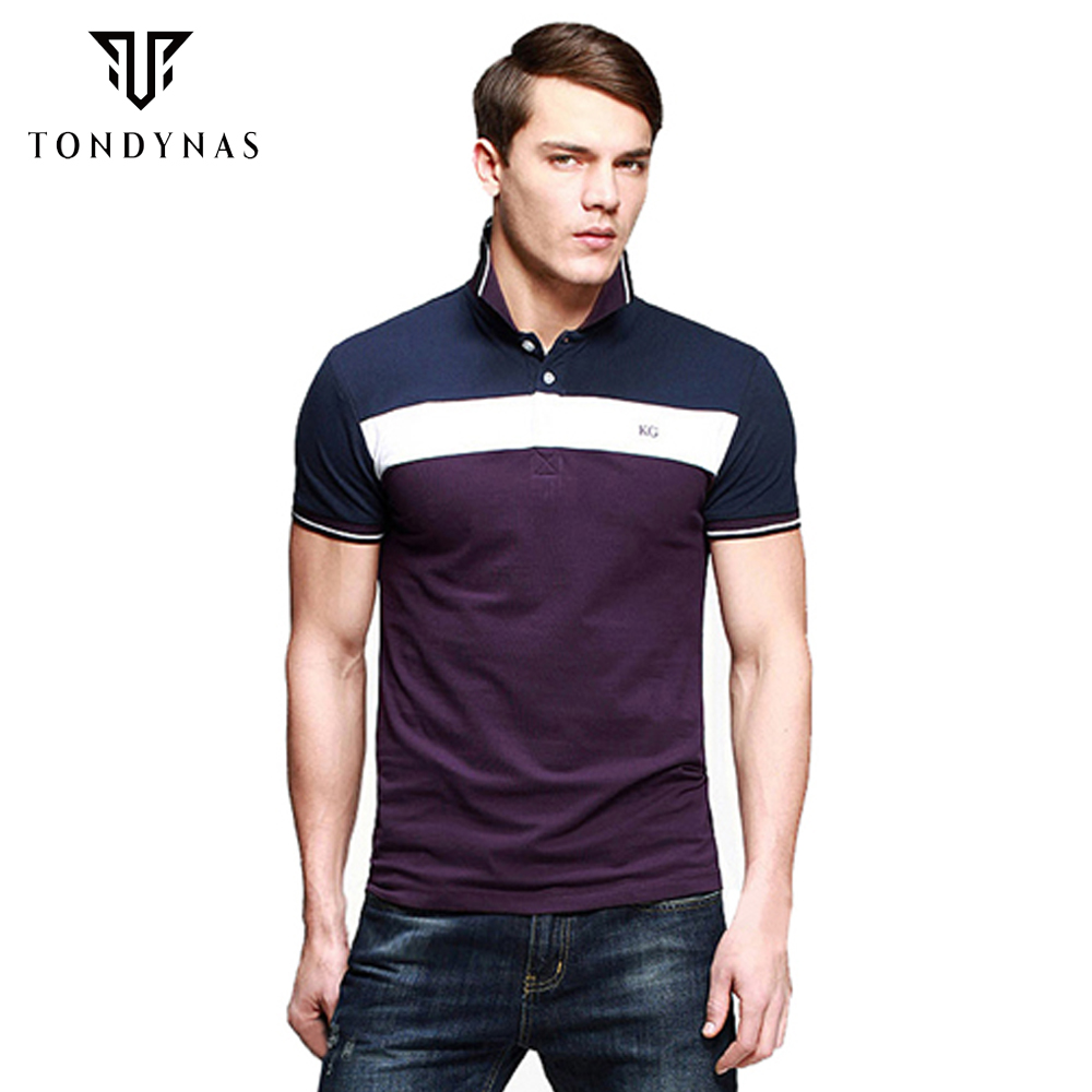 Hot Sales Man Polo Shirt Short Sleeve Cotton Polo Shirt Three