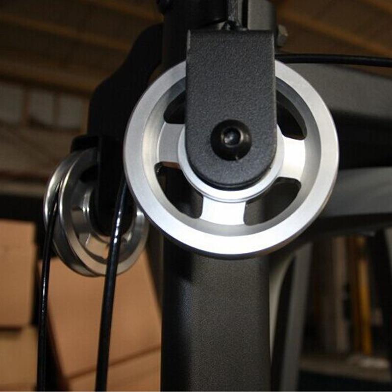Universal 88mm Alüminium Qaldıran Ağır Yük daşıyan Dəyirmi - Fitness və bodibildinq - Fotoqrafiya 1