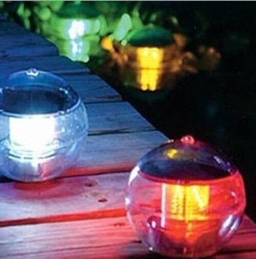 Magic Waterproof Solar solar lights for garden Powered Floating LED Color changing Globe Light
