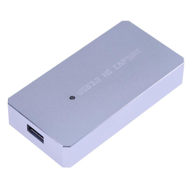 HDMI à USB 3.0 Carte de Capture Dispositif Dongle 1080 P 60fps vidéo Audio Adaptateur Grabber Vidéo Carte De Capture pour TV à ordinateur