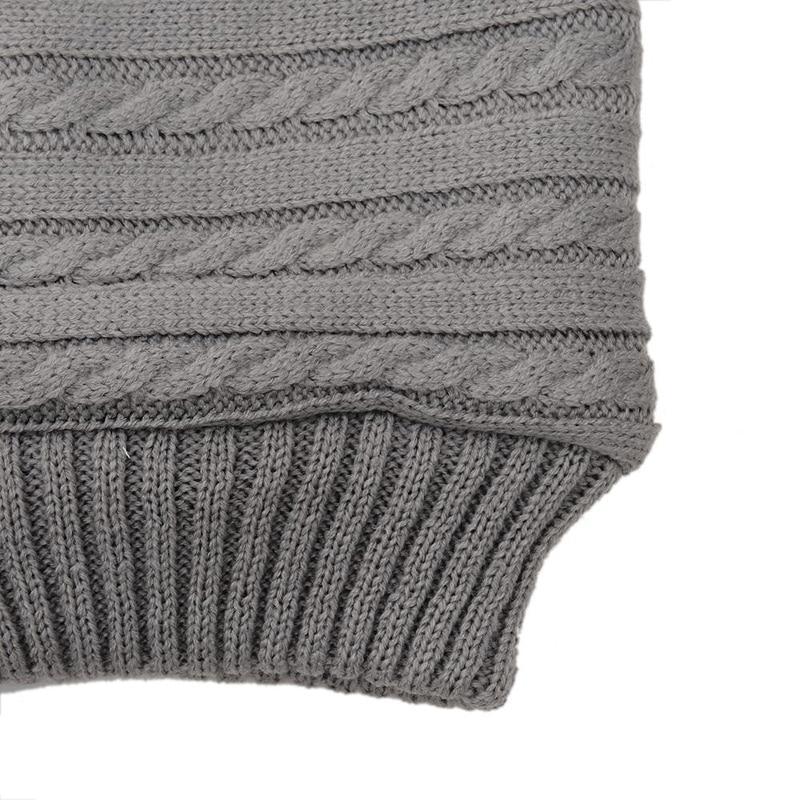 carrinho de criança luvas recém-nascidos tricô outono