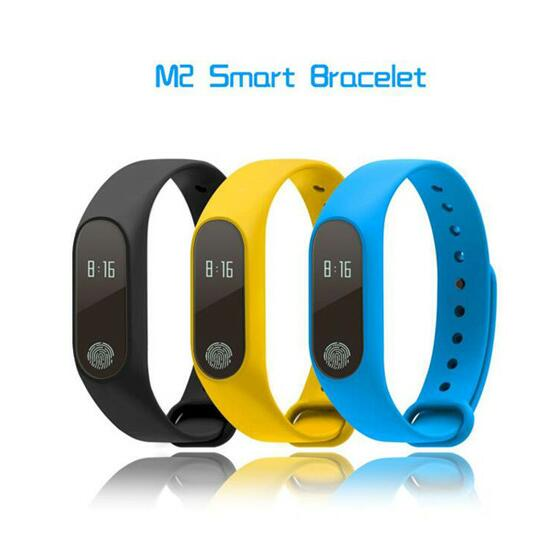 Smart Bracelet Mi Band 2 Wristband Heart Rate Monitor Fitness Tracker Bluetooth Waterproof M2 for Android