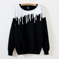Cotton Ladies Fleece Pullover Women Sweatshirts Pullovers Spring Autumn Period New Fashion High End Youth Comfortable