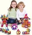 72 шт. Мини-Магнит Игрушки Строительство Раннего Просвещения Обучающие Игрушки Для Детей 3D Магнитного Строительные Блоки, Сделанные В Китае