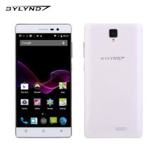 BYLYND M3 original smartphones 8.0MP mobile phones cell Android OS HD 1280*720 quad core 1G RAM MTK unlocked 3G WCDMA