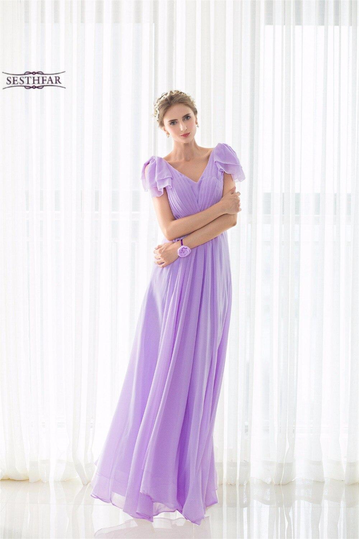 Famoso Deje Caer La Cintura Vestidos De Dama De Honor Composición ...