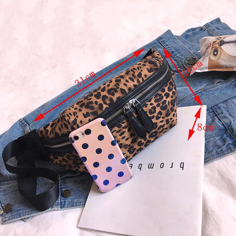 CCRXRQ 2019 Новое поступление Женские поясные сумки Сексуальная искусственная кожа под леопарда нагрудная сумка женская модная поясная сумка женская сумка на плечо Bananka