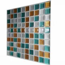 Wall brick Square wall tile stickers 2.0 new waterproof Imitation Brick room decoration Self-adhesive Wallpaper
