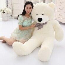 Большая распродажа 60 см до 200 см дешевый гигантский нефаршированный пустой плюшевый мишка Медвежья шкура игрушка плюшевый мишка bearskin плюшевые игрушки 7 цветов