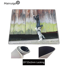 Mairuige Cat Helping Other Cat Cute Animal Large Mouse Pad Anti-slip Rubber PC Computer Gaming Mousepad Desk Mat for LOL Cs Go