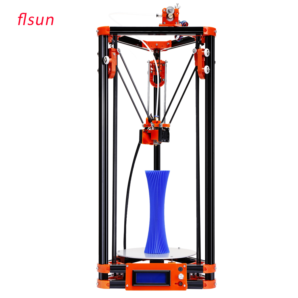 Heated bed 3d Printer Kits Delta 3d printer With Switch Power