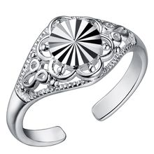 Rings 925 Fashion Jewelry gift rings silver PJ191(China)