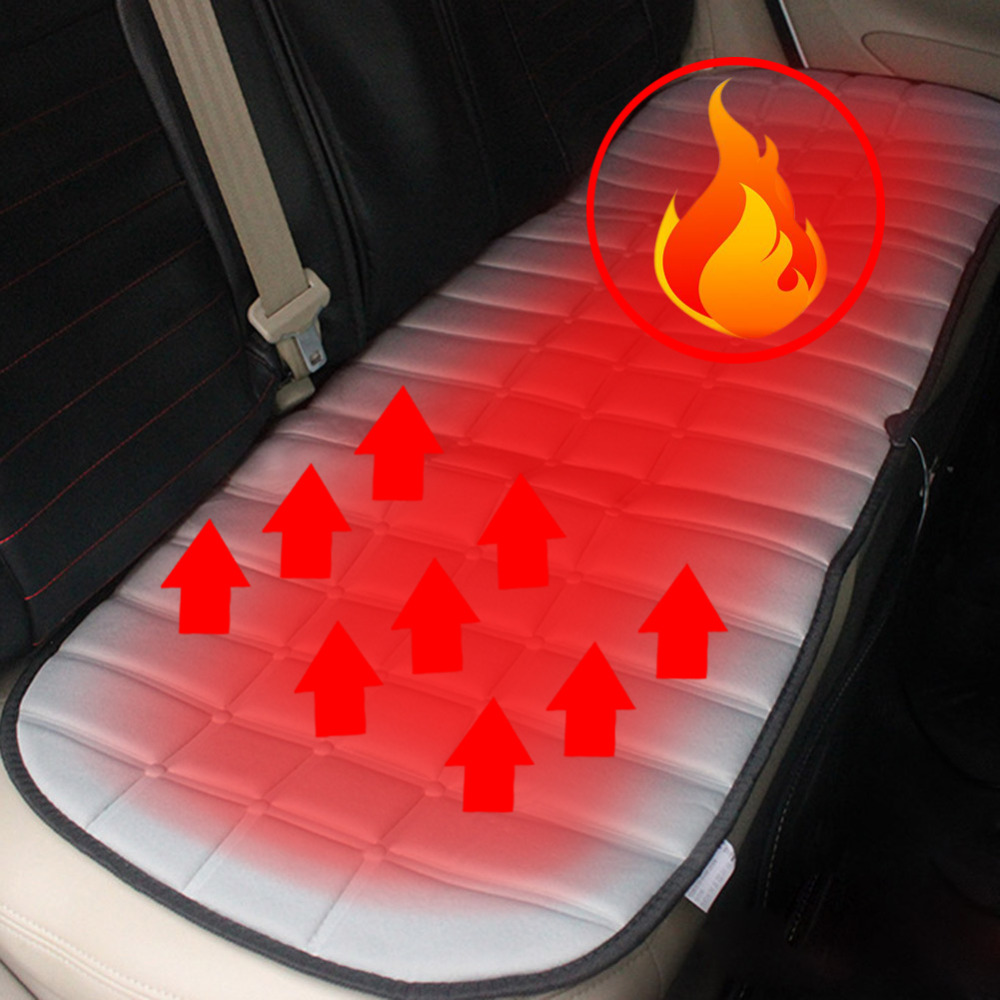 12V Heated Car Seats Back Supplies Warmer Pad Heating In Winter Household Universal Car Seat Cushion