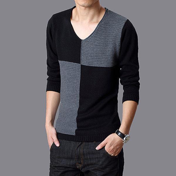 2015 algodón de la tapa para hombre completo suéteres