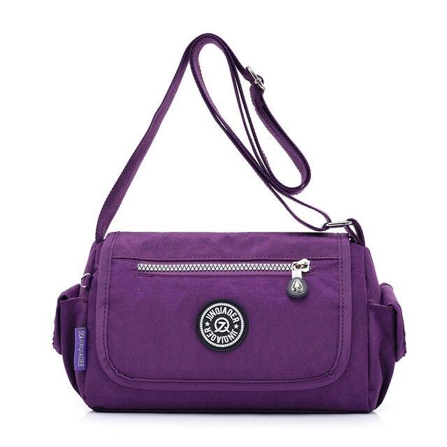 Venda quente Das Mulheres Saco de Embreagem Bolsa saco de Nylon Impermeável saco do Mensageiro Sacos de Moda Bolsas de Ombro Feminino Mini Sacos de Moedas Bolsas