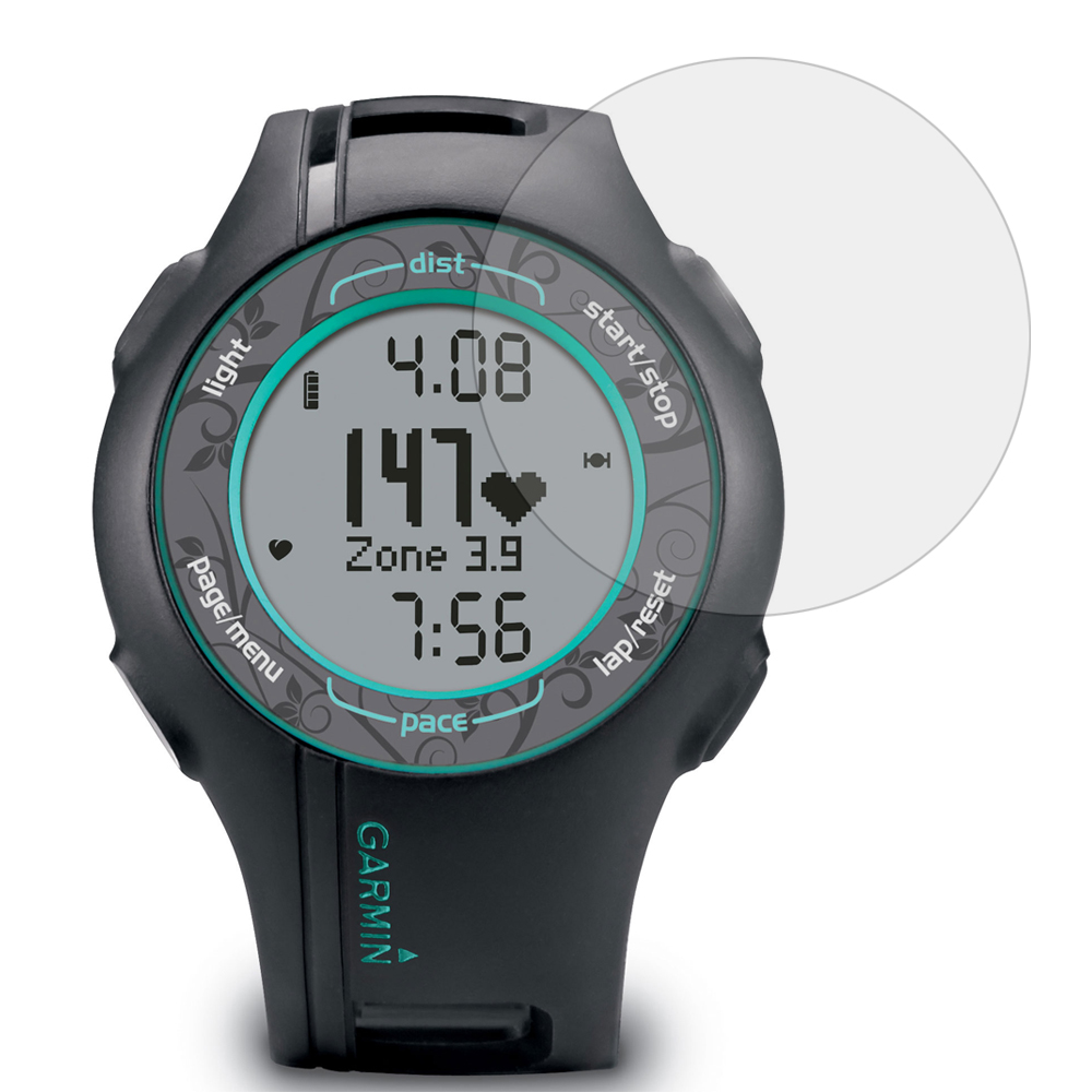 NEW Slim Clear LCD Screen Protector Guard Cover Film Skin for Garmin ForeRunner 210 FR210 Sporting