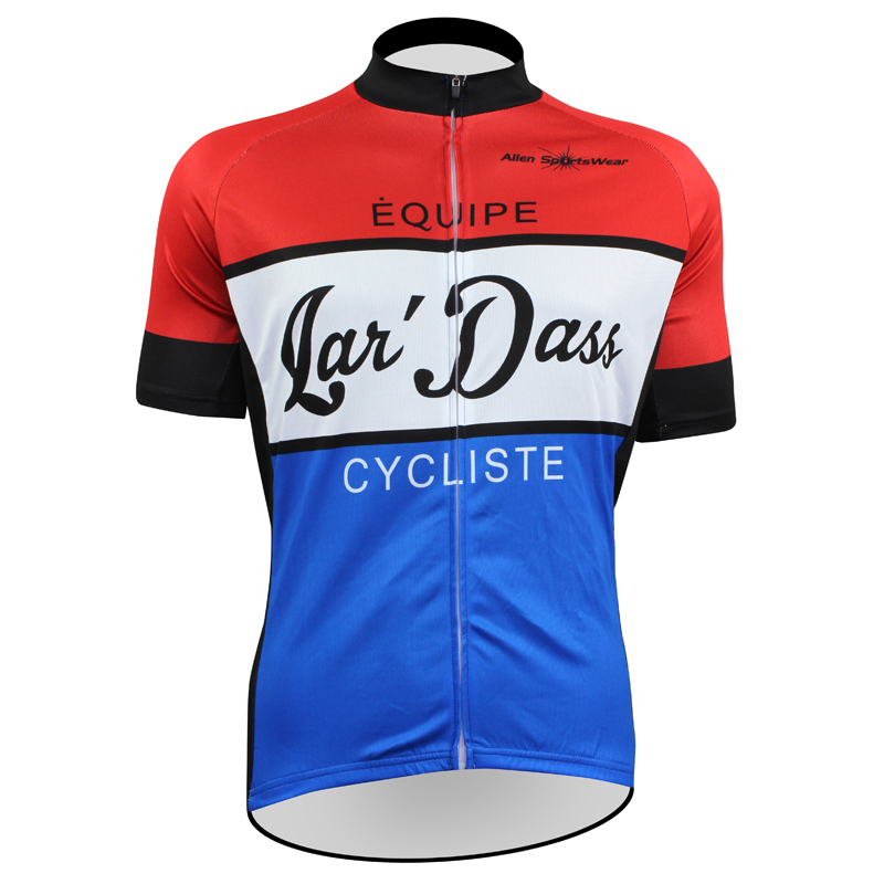 цены New Lan'Dass Cycliste Cycling shirt bike equipment Mens Cycling Jersey Cycling Clothing Bike Shirt Size 2XS TO 5XL ILPALADIN