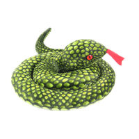 Free Shipping 2013 New Arrival Wholesale Plush Toys The Simulation Snake Toys Factory Supply Toys For