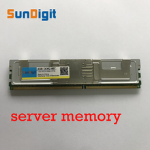 Server Memory For Samsung Hynix HP IBM DELL DDR2 4GB 8GB 16GB 32GB DDR 2 667MHz PC2-5300 2Rx4 4Rx4 FBD ECC PC2-5300F FB-DIMM RAM new 10x1gb pc2 5300 ddr2 667 667mhz 240pin dimm laptop memory pc5300 667mhz ddr2 low density ram free shipping
