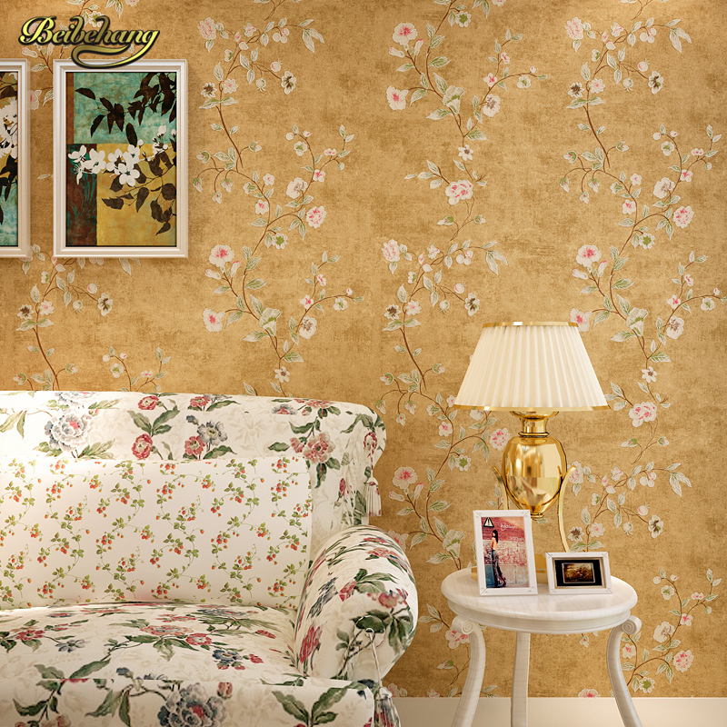 beibehang papel de parede 3d roll Vintage Country wall covering background non-woven wallpaper modern wall paper home decor beibehang embossed damascus non woven wall paper roll modern designer papel de parede 3d wall covering wallpaper for living room