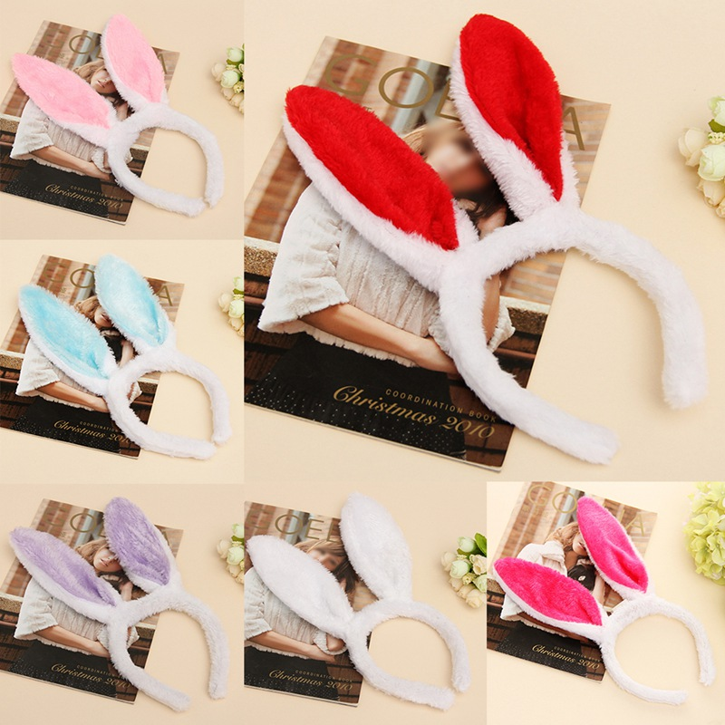 2019 Adult Children Hairband Rabbit Ear Headband Hairband Hair Accessories Hairbands Baby